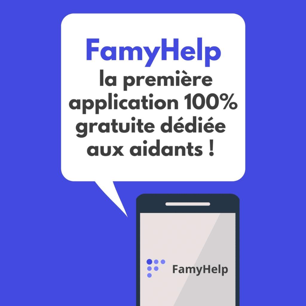 Visuel de l'application FamyHelp